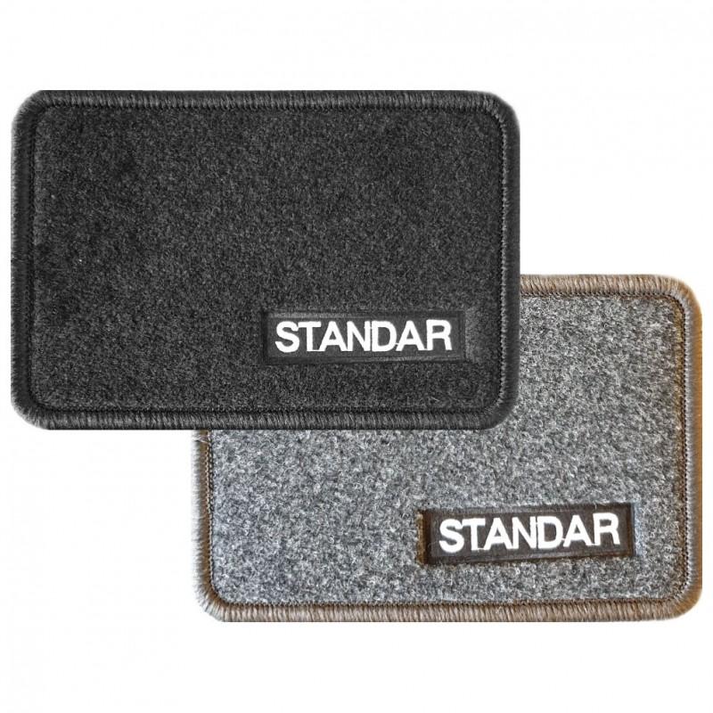 Juego de alfombras delanteras de moqueta STANDAR